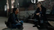 Sasha Williams and Rosita Espinosa Smile 7x14