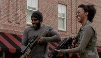 Prey Tyreese and Sasha Laugh.jpg