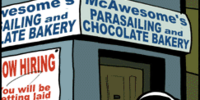 McAwesome's Parasailing and Chocolate Bakery