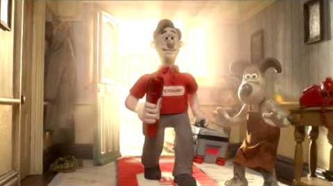 Npower ad starring Wallace & Gromit