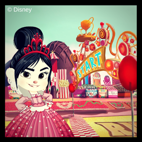 File:Vanellope at the Racing Stadium.png