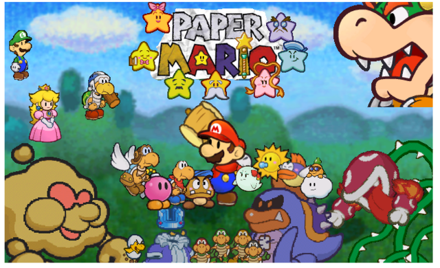 File:Paper Mario WIP by LitoYoshi.png