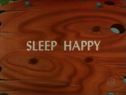 Sleep Happy (TV Title)