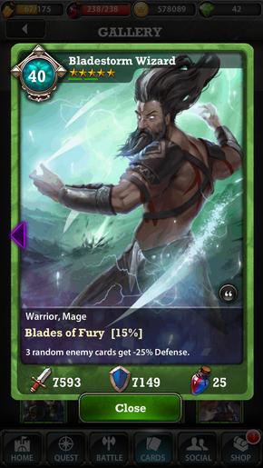 Bladestorm Wizard 40