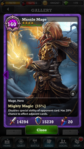 Muscle Mage 160