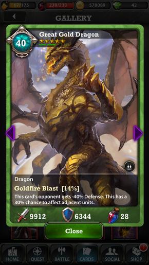 Great Gold Dragon 40