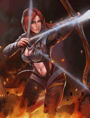 Redknife Archer (2)