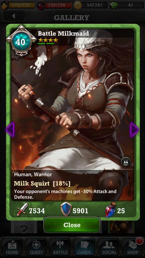 Milkmaid 40