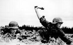 German troops in Russia, 1941