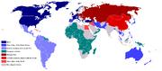 Cold War Map 1959