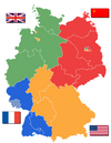 Deutschland Besatzungszonen 1945 1946