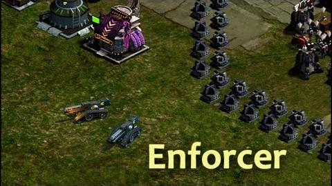 Enforcer Tanks in action