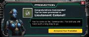 LeveUp-Lv41-Lieutenant Colonel