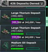 Thorium-Deposit-Owned-Dropdown