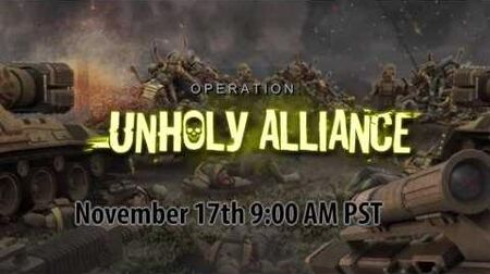 War Commander Operation Unholy Alliance