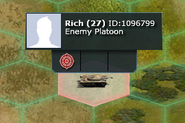 Enemy-platoon