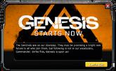 Genesis-EventMessage-4-Start
