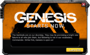 Genesis-EventMessage-4-Start