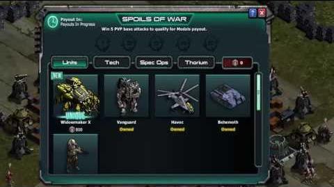 War Commander New Rewards