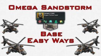 War Commander - Omega Sandstorm Base