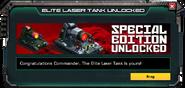 LaserTank-Elite-SpecialEdition-UnlockMessage