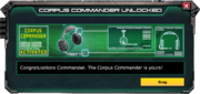 CorpusCommander-UnlockMessage
