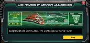 LightweightArmor(Ronin)-UnlockMessage