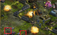 War Commander Beta Old - Super Laser APC
