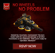 No Wheels No Problem Hover Tank Commander HTC War Commander