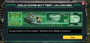EpicTech-GoldCoreBattery-UnlockMessage