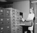 Helen Gandy's Filing Cabinets