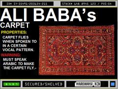 Ali Baba's Carpet