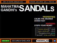 Mahatma Gandhi's Sandals
