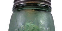 Glass Jar from the Donner Party