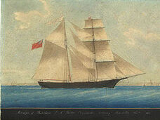 300px-Mary Celeste as Amazon in 1861