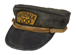William Hornaday's Zookeeper Hat