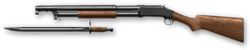 Winchester M1897 Render
