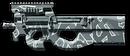 FN P90 Winter Camo Render
