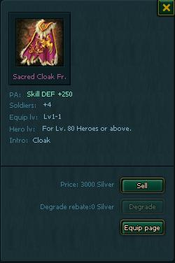 Sacred Cloak Fragment