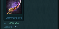 Ominous Glaive