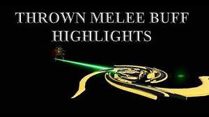 WARFRAME - Thrown Melee Buff Highlights Cerata Charged Throw Navigator