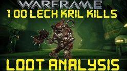 Warframe - Loot From 100 Lech Kril Kills