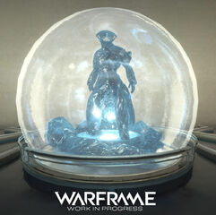 Warframe Frost Relay Statue