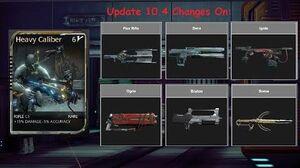 Warframe Heavy Caliber After Update 10