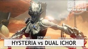 Warframe Hysteria vs