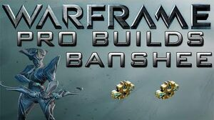Warframe Banshee Pro Builds 2 Forma