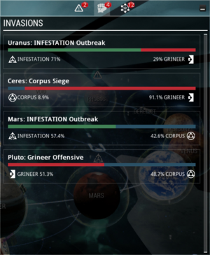 Invasion UI