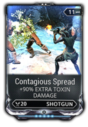 Contagious Spread