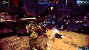 Warframe New Captain Vor Boss Fight Solo