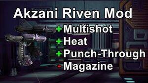 Akzani Riven Mod Compacted, Pressurized Magazine